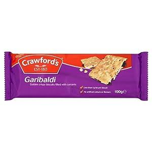 Crawfords Garibaldi - 100g - Pack of 8 (100g x 8)