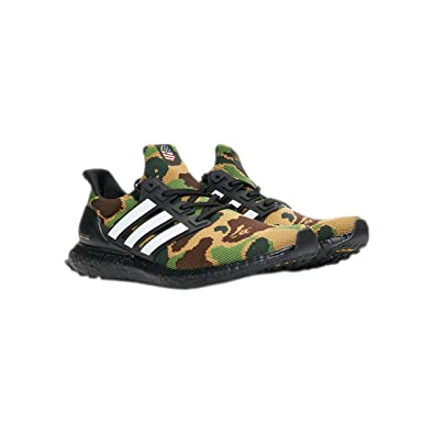 37c1edf7b adidas Ultra Boost BAPE F35097 Green Camo  Amazon.co.uk  Shoes   Bags