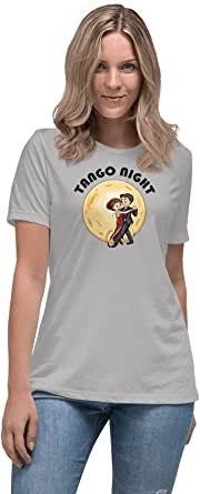 Art Gallery Misr Printed Tango Night T-Shirt Short Sleeve