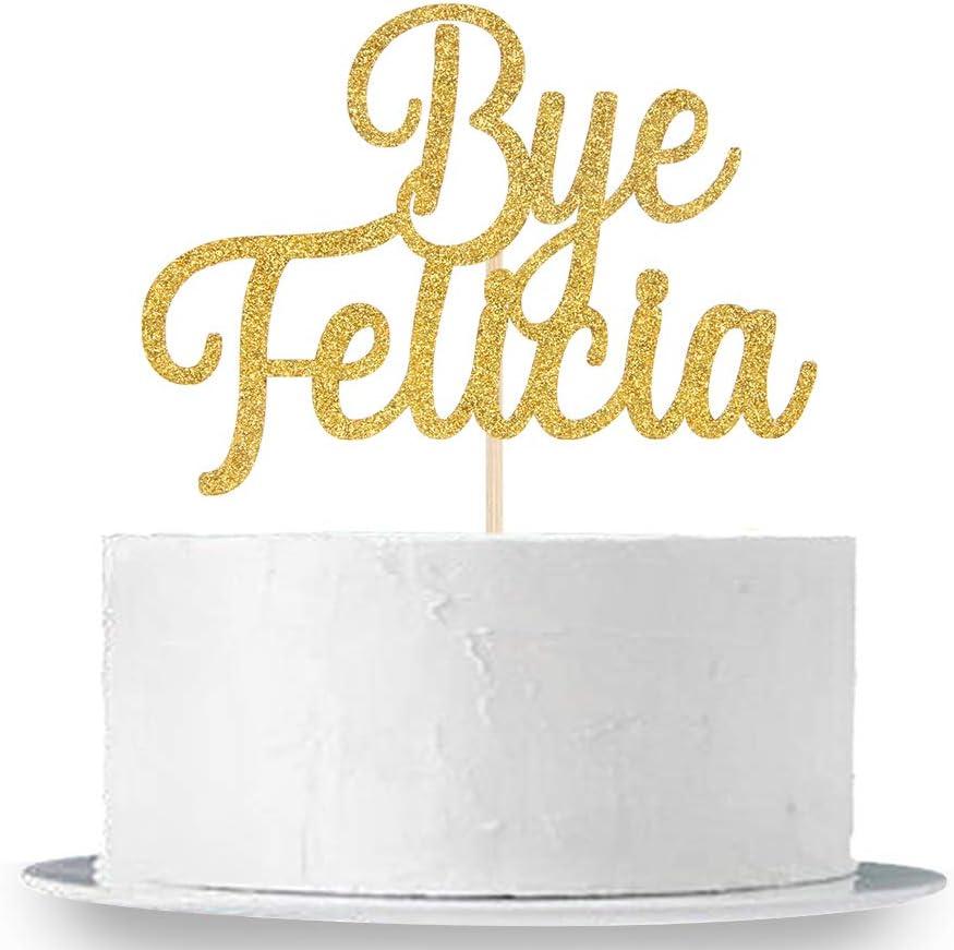 BYE Felicia Glitter Banner Bachelorette Party Divorce Party