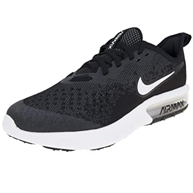 huge selection of 52dce 5e51f Nike Air Max Sequent 4 BG, Chaussures de Fitness Homme, Noir (Black