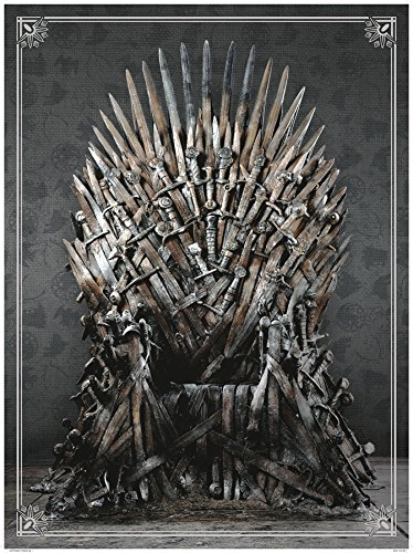 Dark Horse Deluxe Game of Thrones: Iron Throne Deluxe Puzzle (1000 Piece) ()