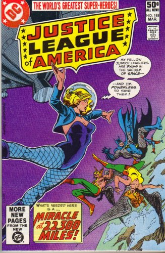 Justice League of America No. - Miracle Marketplace Mile