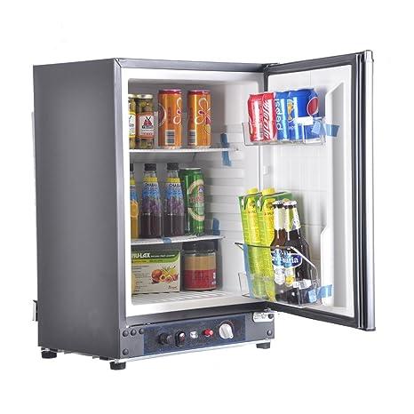 SMAD 3 Way Absorption Fridge RV Truck Refrigerator,AC/DC/LPG,
