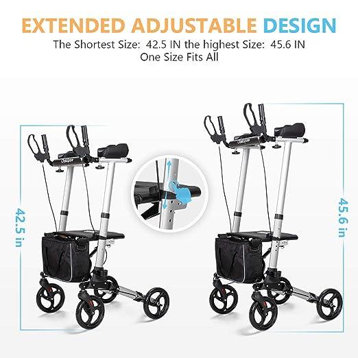 Amazon.com: OasisSpace - Andador vertical ligero y estrecho ...
