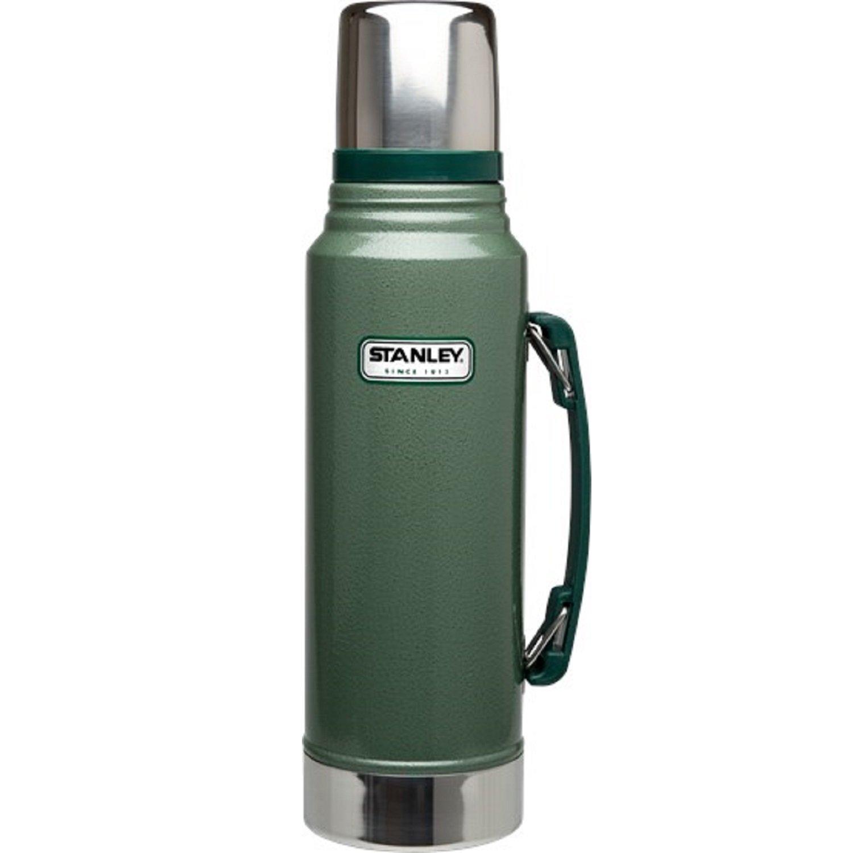Stanley Classic Vakuum Isolierflasche Edelstahl 1300ml Thermoskanne mit Griff
