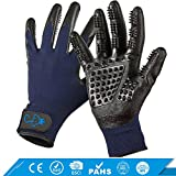 Pet Royale Pet Grooming Gloves20181030 [2018 Improved Tactile]