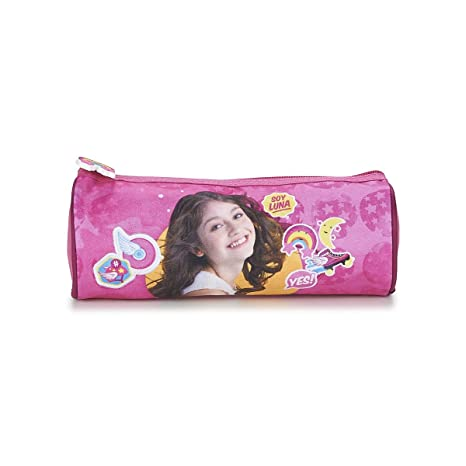 SOY LUNA TROUSSE RONDE Estuches, 22 cm, Rosa (Rose): Amazon ...