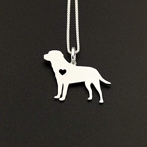 58f10d9a0fa Image Unavailable. Image not available for. Color: Labrador Retriever  necklace ...