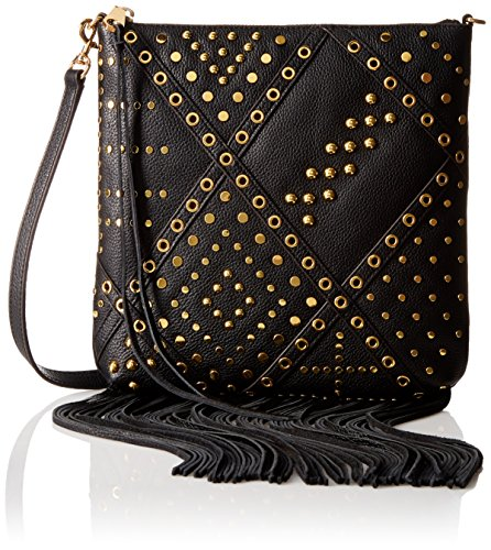 Rebecca Minkoff Jemma with Studs Cross-Body Bag - Black -...