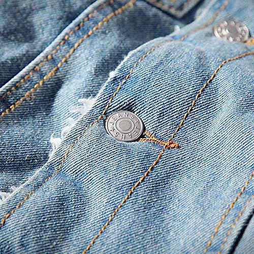 Classico Pelliccia inverno Vintage Cappotto Giacca Spessa m Longra 4xl Da Leggera Pile Autunno Denim Corta In Jeans Di Blu Donna Taglie Forti Z0Ixwqx46