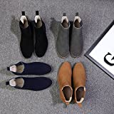 OUOUVALLEY Classic Slip-on Original Suede Chelsea