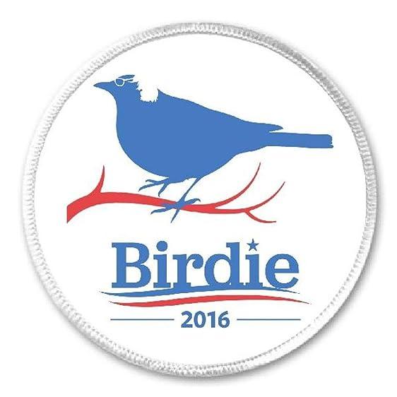 amazon com birdie 2016 3 sew iron on patch bernie sanders