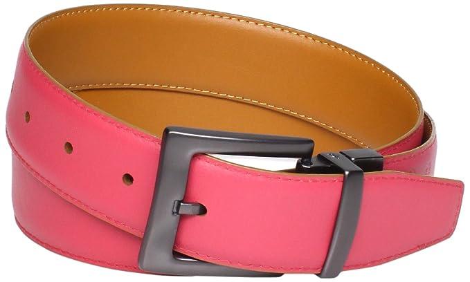 07b3d142235a Amazon.com: Original Penguin Men's Reversible Leather Belt, Tan, 40 ...
