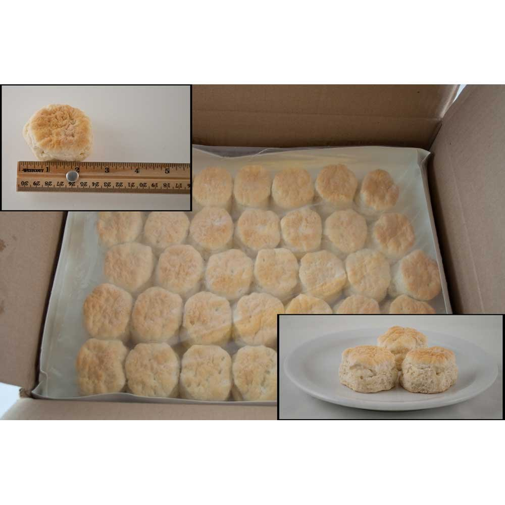 General Mills Pillsbury Baked Golden Buttermilk Biscuit, 1 Ounce -- 175 per case. by General Mills (Image #1)