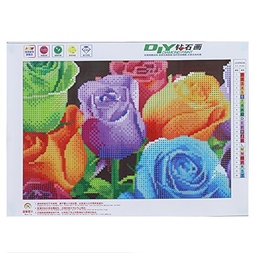 Feamos Flower Diamond Painting Stitch product image