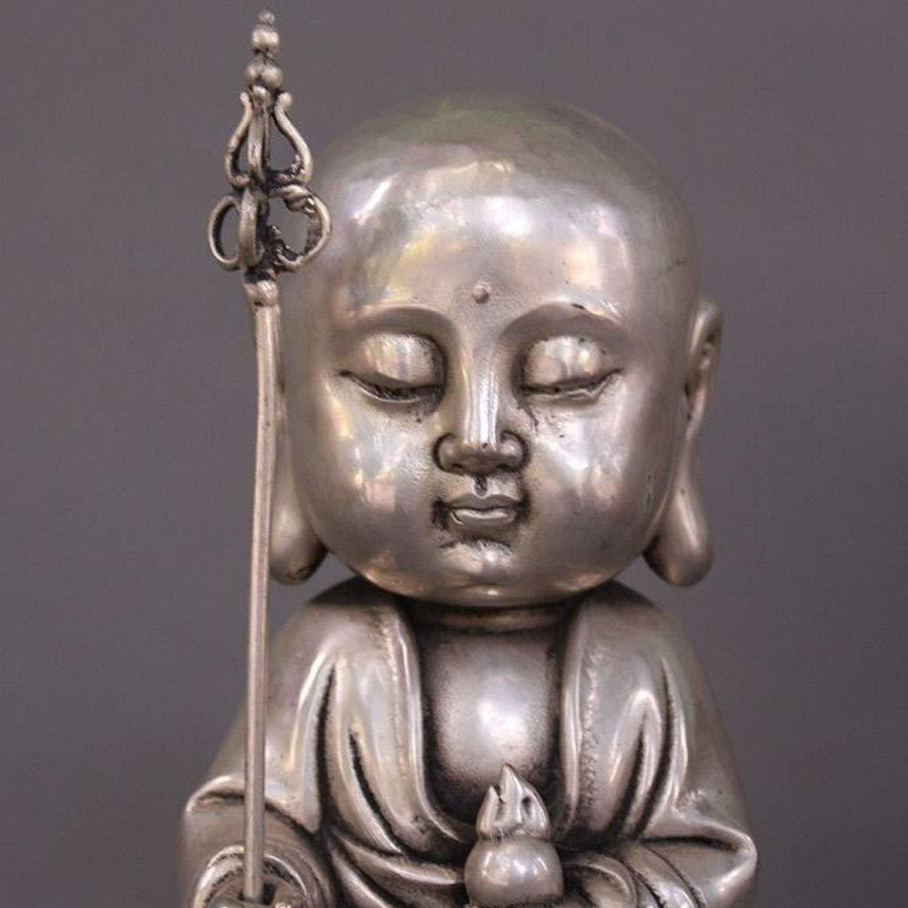 LXYFMS Tibet Tibetan Buddhism Temple Silver Dig Buddha Buddha Buddha Statue Crafts by LXYFMS (Image #6)