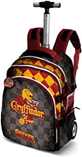 Harry Potter Quidditch Gryffindor-Travel Trolley-Rucksack Sac à Dos Loisir, 28 liters, Rouge Karactermania 37637