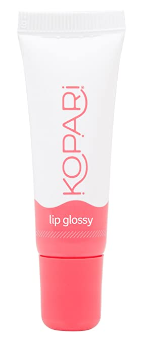 Kopari Coconut Lip Glossy- Hydrating and Moisturizing Coconut Oil, Vitamin E and Shea Butter Lip Gloss With 100% Organic Coconut Oil, Non GMO, Vegan, Cruelty Free, Paraben Free, Sulfate Free 0.35 Oz best lip gloss
