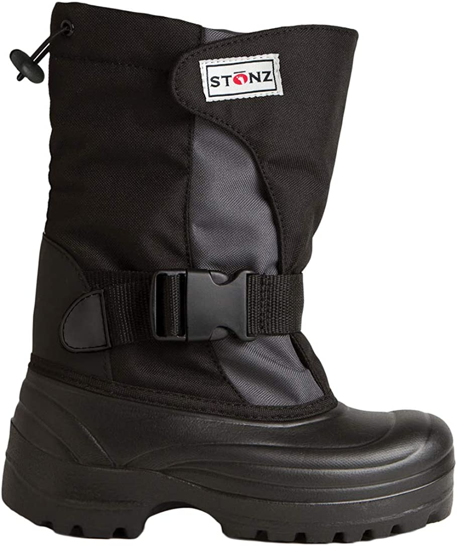 Super Light Ice and Winter Sports Snow Stonz Trek Winter Boots for Cold Weather Insulated
