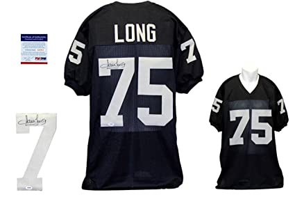 newest e91fa a7c32 Howie Long Signed Jersey - PSA/DNA Certified - Autographed ...