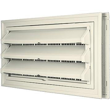 Constructores borde 140036410082 Fundación Kit de ventilación - Anillo Embellecedor y persiana fija Opción (moldeado Protector de) 082, lino: Amazon.es: ...