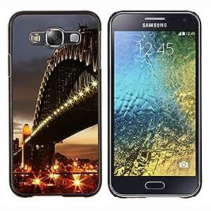 "For Samsung Galaxy E5 E500 , S-type Arquitectura Ciudad Puente"" - Arte & diseño plástico duro Fundas Cover Cubre Hard Case Cover"
