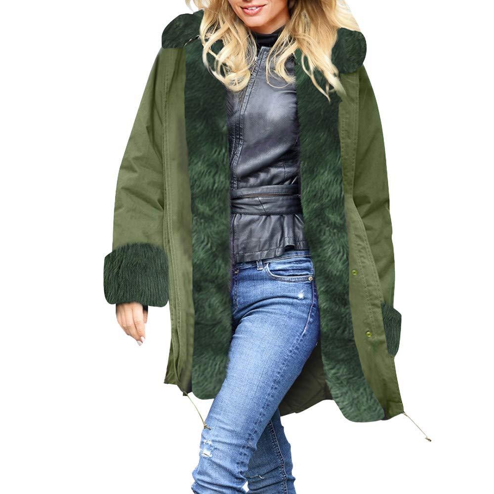 Seaintheson Women's Coats OUTERWEAR レディース B07JCM9F39  ミントグリーン X-Large