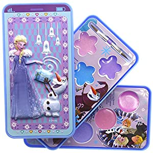 TownleyGirl Frozen Sparkly Lipgloss For Girls, Cell Phone Lipgloss Compact, 8 flavors