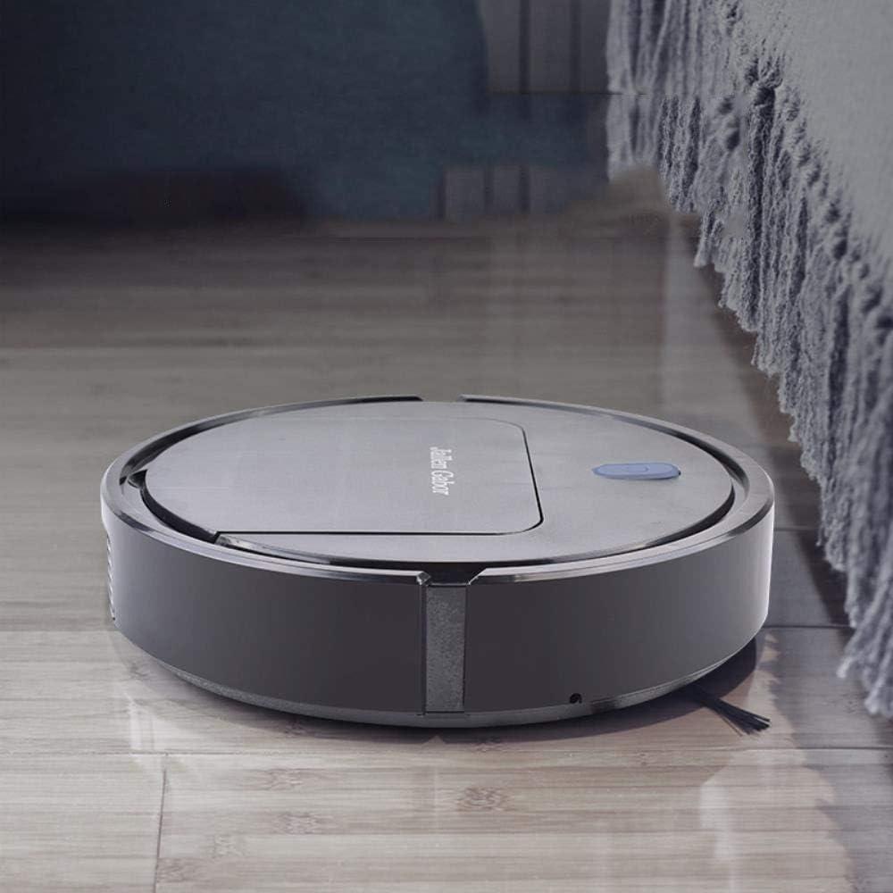 Robot de balayage aspirateur USB à puce intelligente du ménage robot de balayage ggsm (Color : White) Black