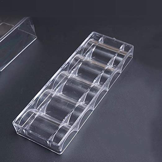 Bogget - Caja para Chips, plástico acrílico Transparente: Amazon ...