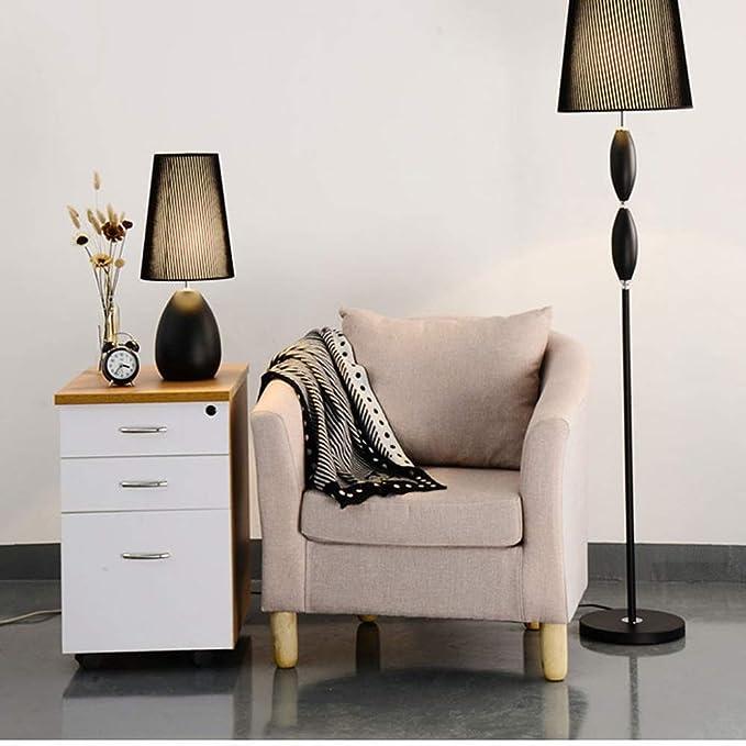Amazon.com: Fashion Iron Table Lamps, Post-modern LED Metal ...