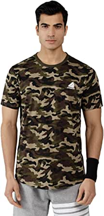 US T-Shirt Men/'s Camo Cotton Bw Fit Street Army Bundeswehr Multicoloured Short
