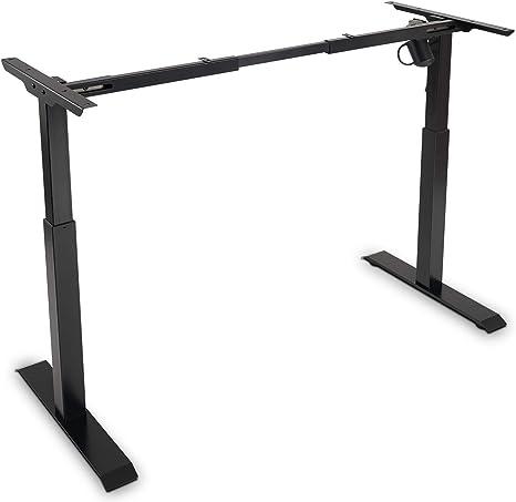 USED VIVO Black Electric Single Motor Stand Up Height Adjustable Desk Frame