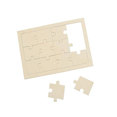 Do It Yourself Wood Puzzle 5X7 - Crafts for Kids and Fun Home Activities: Toys & Games