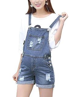 9efb2f946394a LIREROJE Women Soft Denim Maternity Bib Overalls Pregnancy Jeans Romper  Shortalls Adjustable Jumpsuit Fit Belly Pants