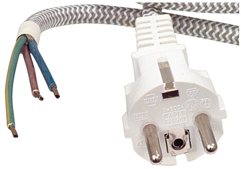 Fixapart W8-90001 Cable elé ctrico, Gris