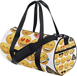 Foldable Duffle Bag Cupcake Toppers Lightweight Travel Sports Gym Bags Overnight for Women Men
