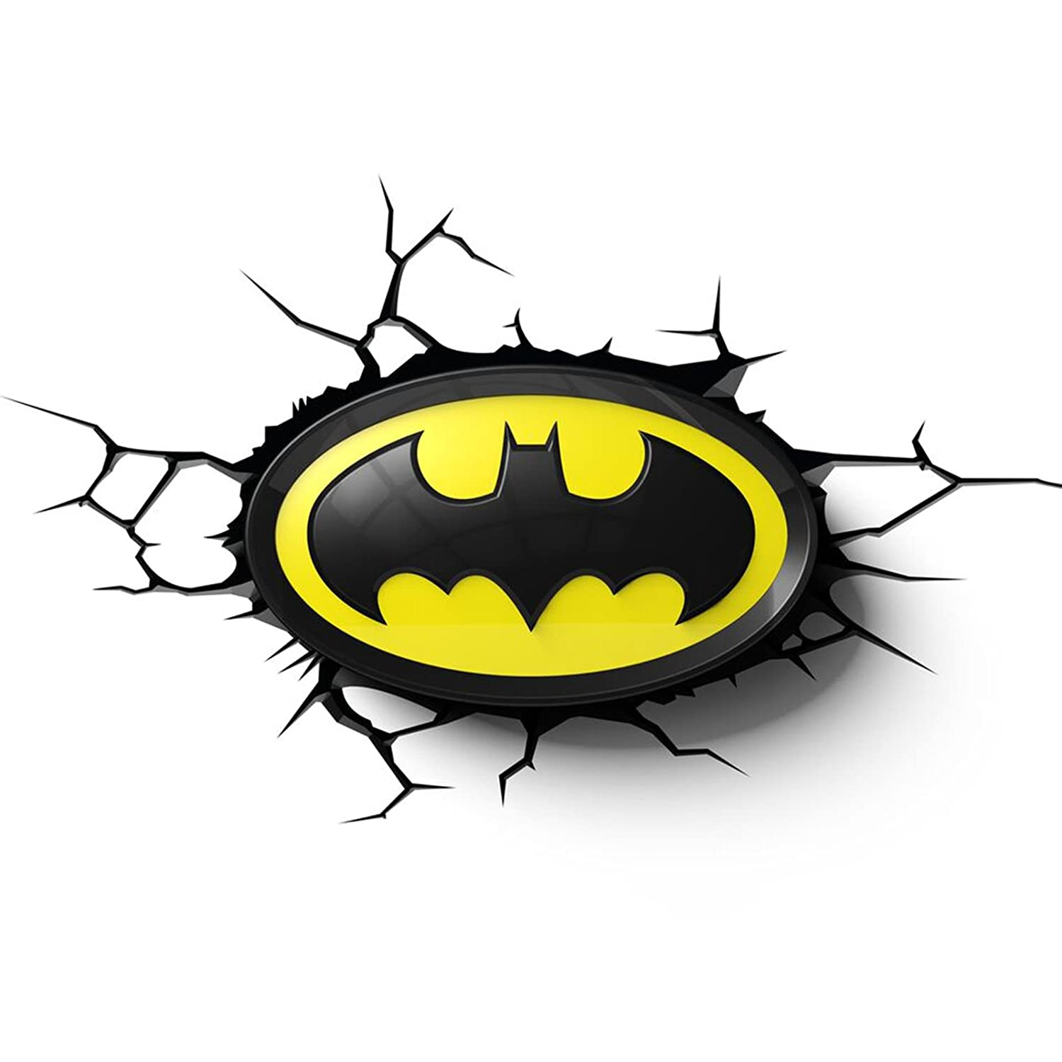 Amazon batman logo 3d led wall light home kitchen aloadofball Choice Image