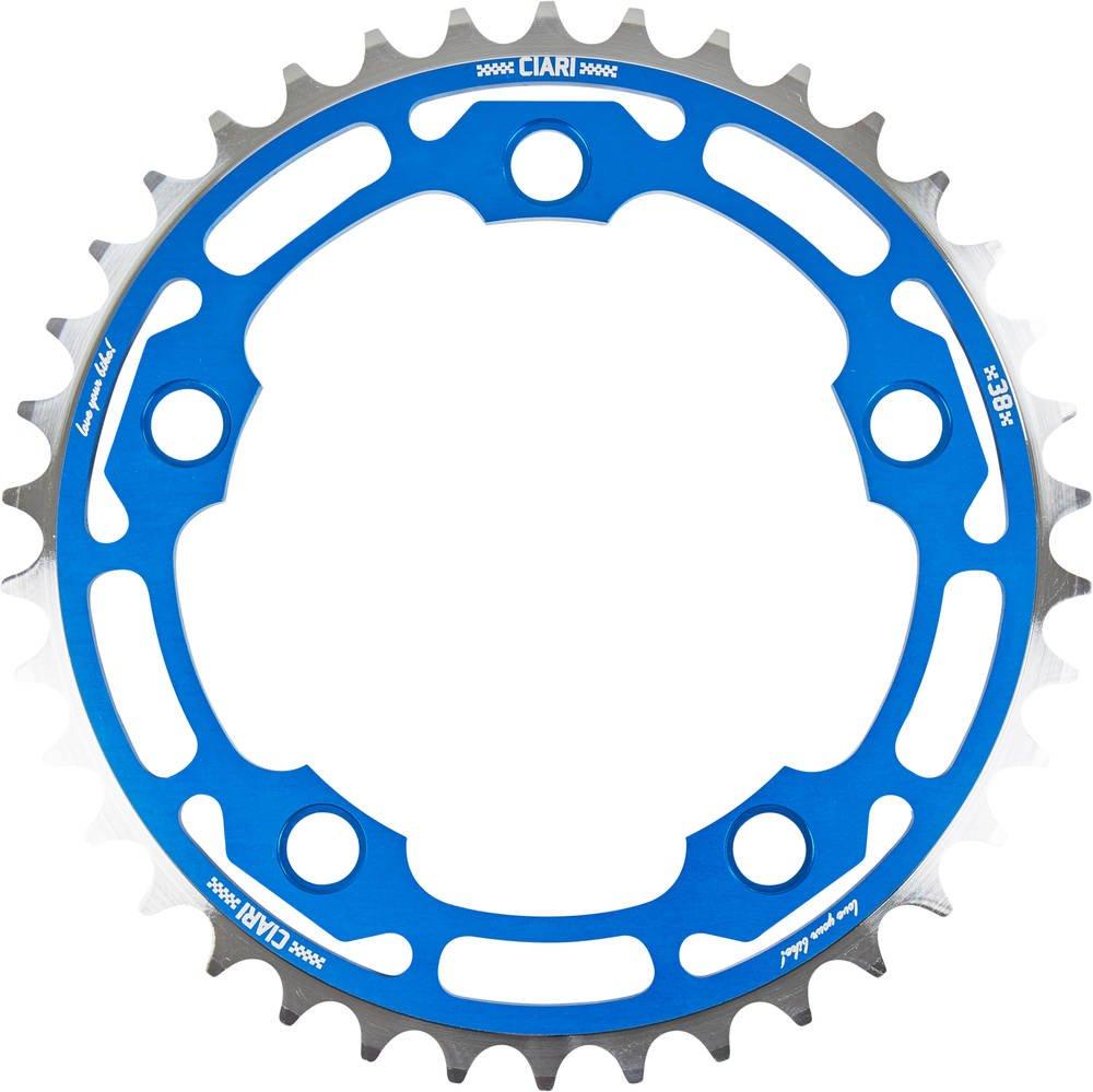 Ciari Corona Corona BMX Carreras 5 tornillos (Azul - 39T) Ciari BMX