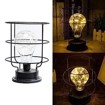 Wankd Moderna lámpara de mesa - Con innovadora base de estilo ...