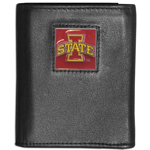 Iowa Leather - NCAA Iowa State Cyclones Leather Tri-Fold Wallet