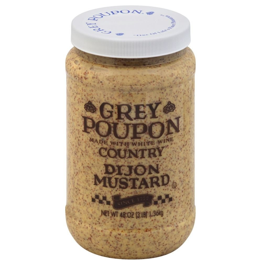 Grey Poupon Country Dijon Mustard 6 Case 48 Ounce