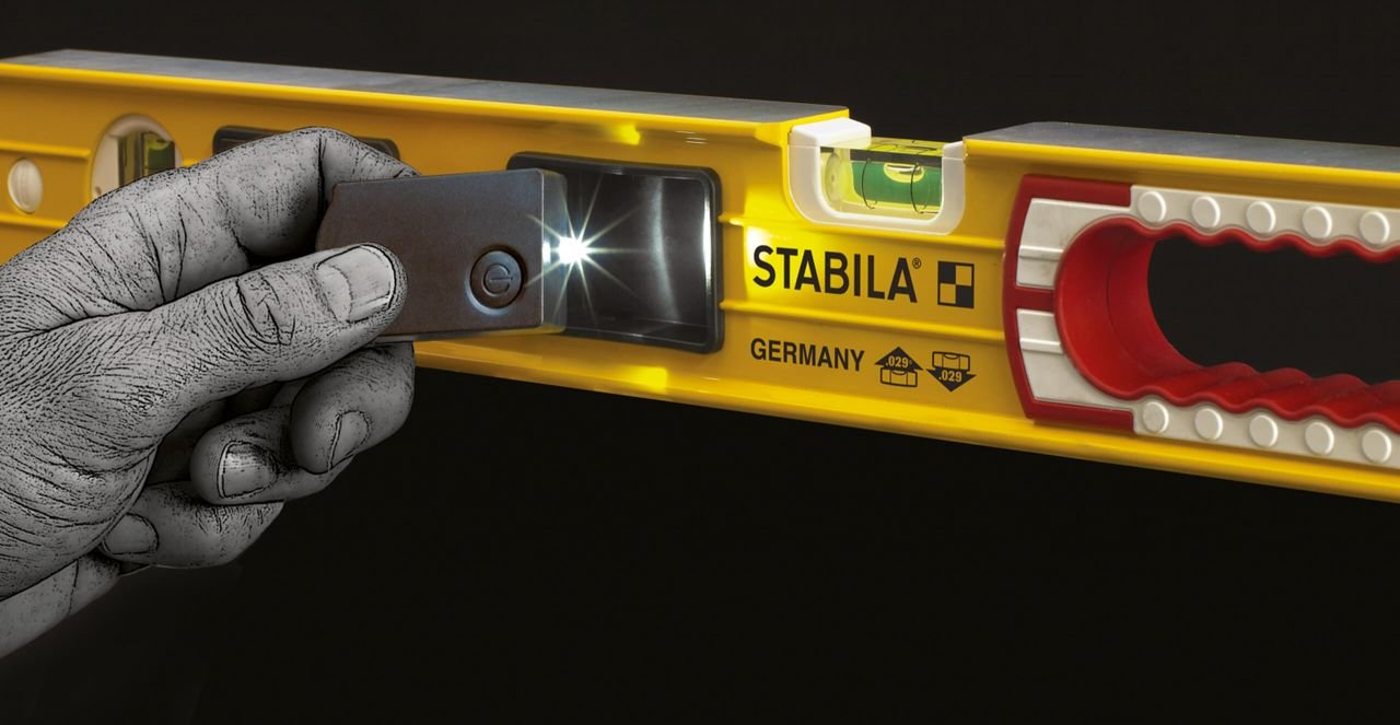 Stabila Level Set Kit Type 196-2 LED 48'' and 24'' Levels with Lighted Vials by Stabila (Image #7)