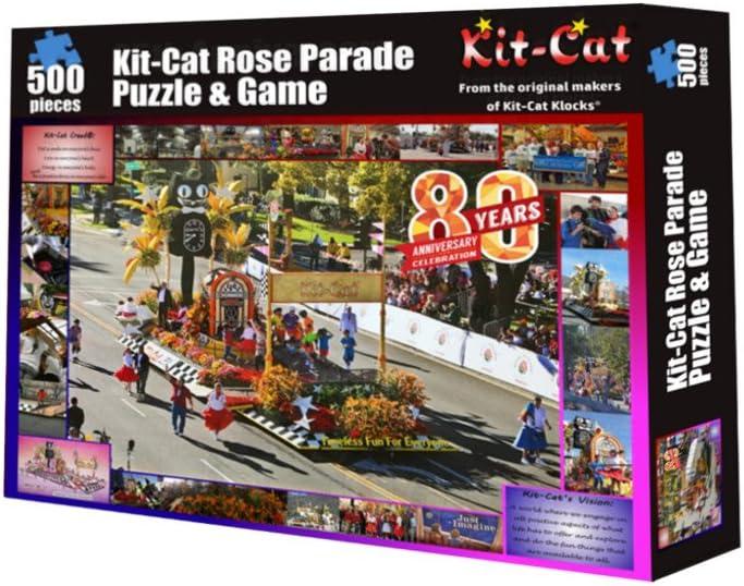 Rose Parade Kit-Cat Klock Rompecabezas y Juego: Amazon.es: Juguetes y juegos