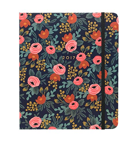 Rifle Paper Co 17 Month Agenda 2017 (Planner) (Large, Rosa)