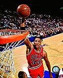 Scottie Pippen Chicago Bulls NBA Action Photo (Size: 20'' x 24'')