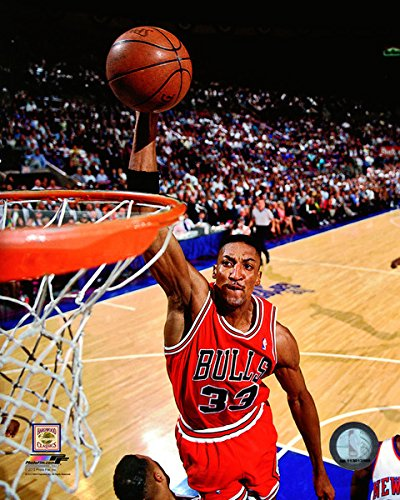 Scottie Pippen Chicago Bulls NBA Action Photo (Size: 20'' x 24'') by NBA