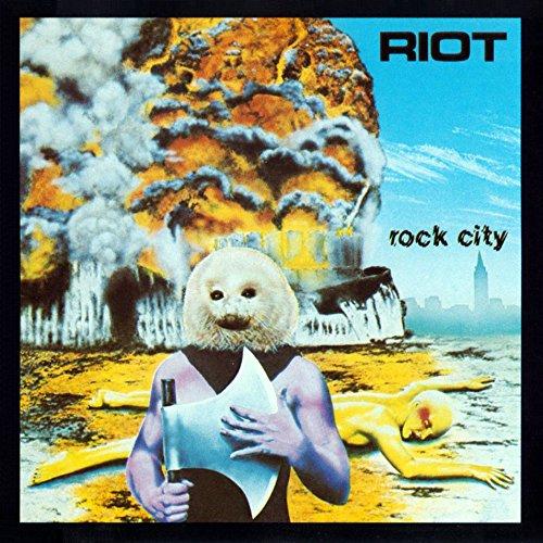 Vinilo : Riot - Rock City (LP Vinyl)