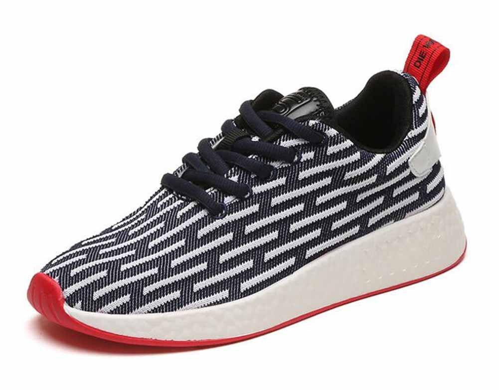 Hombres casual Athletic Shoes 2017 otoño nuevos jóvenes par transpirable zapatos corrientes ( Color : B , Size : 42 ) 42 B
